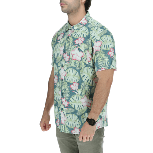 Camisa Manga Corta Hombre Brick Forest