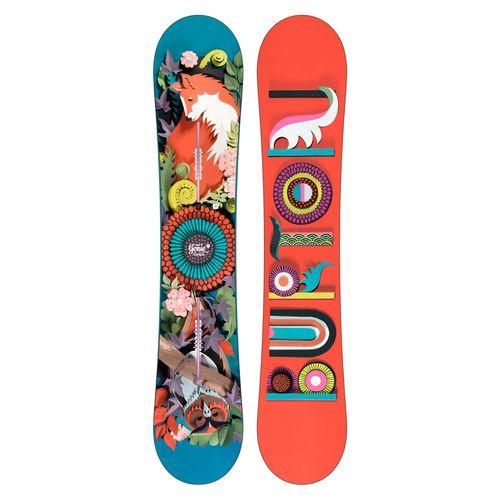 Tabla Snowboard Mujer Genie