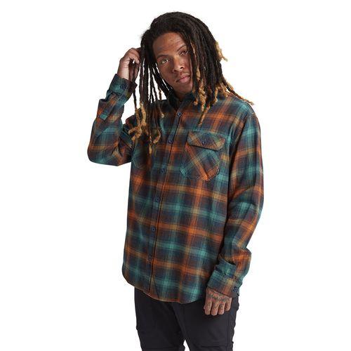 Camisa Hombre M Brighton Flanel Antq